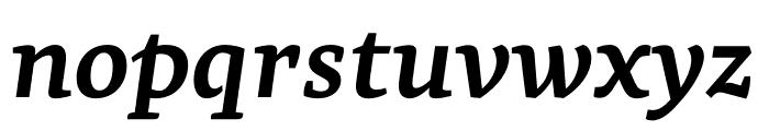Geneo Std Bold Italic Font LOWERCASE
