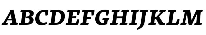 Geneo Std ExtraBold Italic Font UPPERCASE