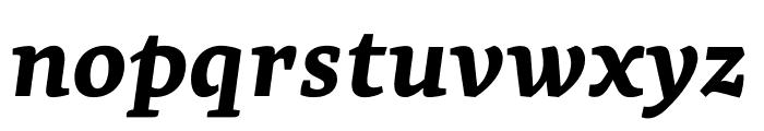 Geneo Std ExtraBold Italic Font LOWERCASE