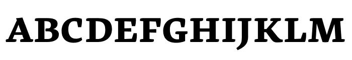 Geneo Std ExtraBold Font UPPERCASE