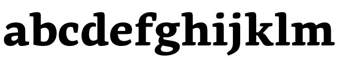 Geneo Std ExtraBold Font LOWERCASE