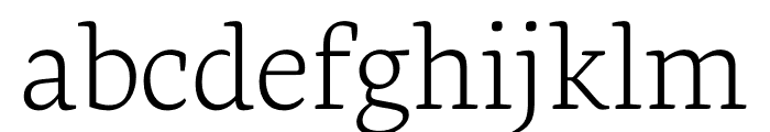 Geneo Std Light Font LOWERCASE