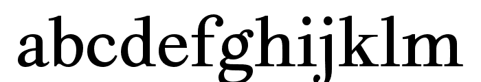Geographica Hand Regular Font LOWERCASE