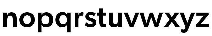 Gibson Medium Font LOWERCASE