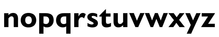 Gill Sans Nova Condensed Bold Font LOWERCASE