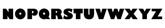 Gill Sans Nova Condensed ExtraBold Font UPPERCASE