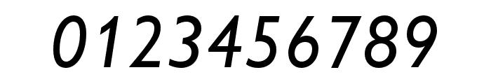 Gill Sans Nova Condensed Medium Italic Font OTHER CHARS