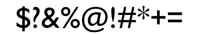 Gill Sans Nova Condensed Medium Font OTHER CHARS