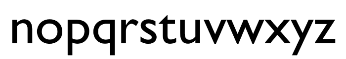 Gill Sans Nova Condensed Medium Font LOWERCASE