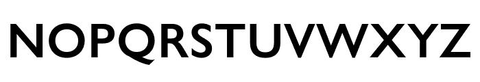 Gill Sans Nova Condensed SemiBold Font UPPERCASE