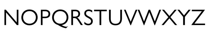 Gill Sans Nova Deco Regular Font UPPERCASE