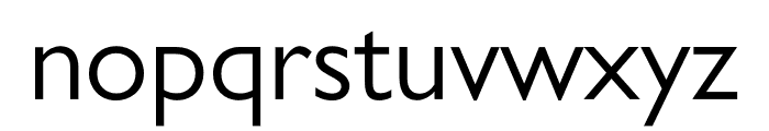 Gill Sans Nova Inline Condensed Font LOWERCASE
