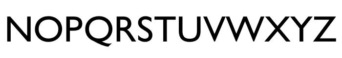 Gill Sans Nova Shadowed Medium Font UPPERCASE