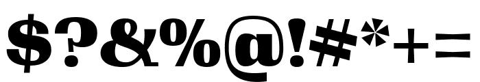 Gimlet Display Black Font OTHER CHARS