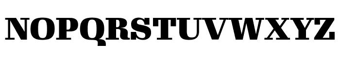Gimlet Display Black Font UPPERCASE
