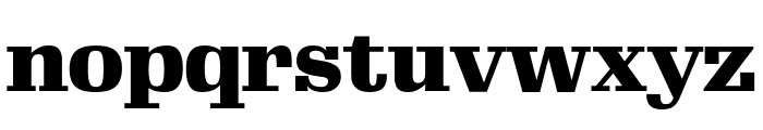 Gimlet Display Black Font LOWERCASE