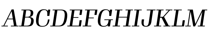 Gimlet Display Compressed Italic Font UPPERCASE