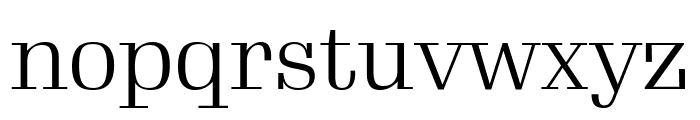 Gimlet Display Condensed Light Font LOWERCASE