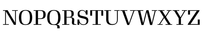 Gimlet Display Condensed Regular Font UPPERCASE