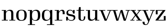Gimlet Display Condensed Regular Font LOWERCASE