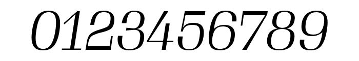Gimlet Display Narrow Light Italic Font OTHER CHARS