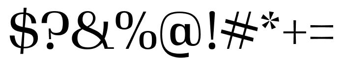 Gimlet Display Narrow Regular Font OTHER CHARS