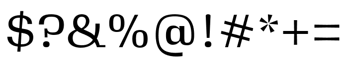 Gimlet Micro Compressed Regular Font OTHER CHARS