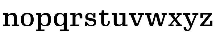 Gimlet Micro Condensed Medium Font LOWERCASE