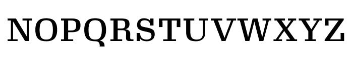 Gimlet Micro Medium Font UPPERCASE