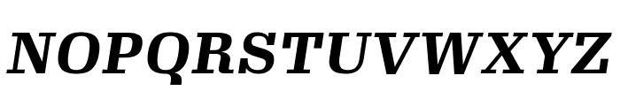 Gimlet Micro Narrow Bold Italic Font UPPERCASE