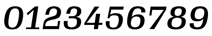 Gimlet Micro Narrow Medium Italic Font OTHER CHARS
