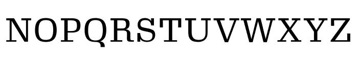 Gimlet Micro Narrow Regular Font UPPERCASE