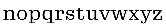 Gimlet Micro Narrow Regular Font LOWERCASE