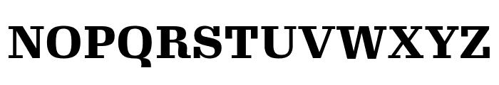 Gimlet Text Black Font UPPERCASE
