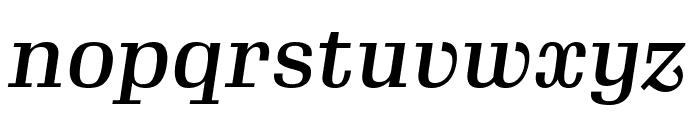 Gimlet Text Compressed Medium Italic Font LOWERCASE