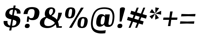 Gimlet Text Condensed Bold Italic Font OTHER CHARS