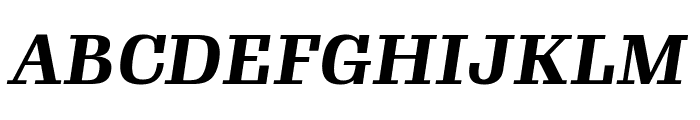 Gimlet Text Condensed Bold Italic Font UPPERCASE