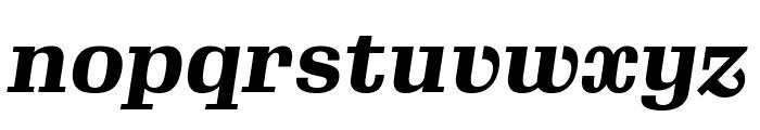 Gimlet Text Narrow Black Italic Font LOWERCASE