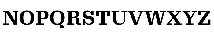 Gimlet Text Narrow Bold Font UPPERCASE