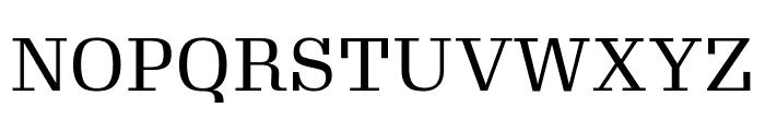 Gimlet Text Narrow Regular Font UPPERCASE