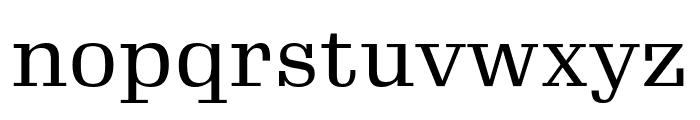 Gimlet Text Narrow Regular Font LOWERCASE