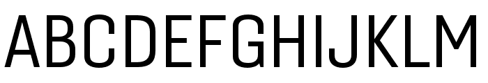 Gineso Cond Regular Font UPPERCASE