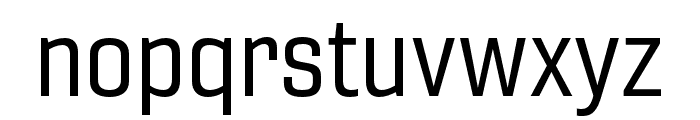 Gineso Cond Regular Font LOWERCASE