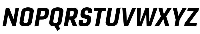Gineso Ext Black Italic Font UPPERCASE