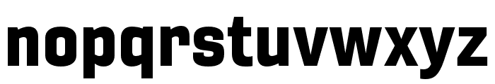 Gineso Ext Black Font LOWERCASE