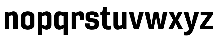 Gineso Ext Bold Font LOWERCASE