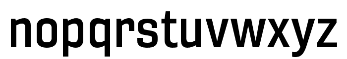 Gineso Ext Demi Font LOWERCASE