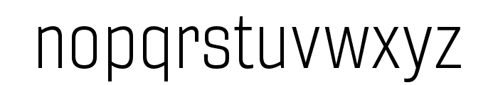 Gineso Ext Light Font LOWERCASE