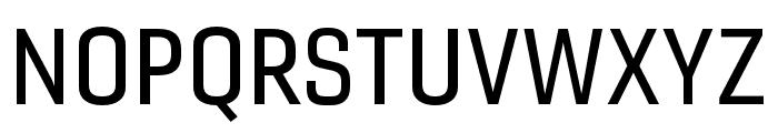 Gineso Ext Medium Font UPPERCASE