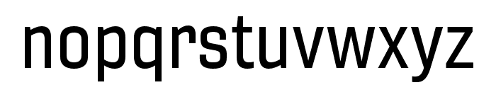 Gineso Ext Medium Font LOWERCASE